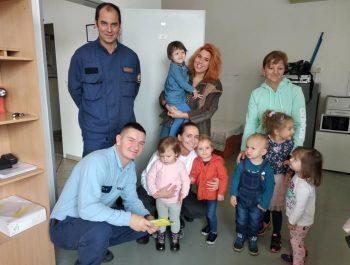 Exkurzia u hasičov