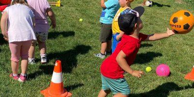 Športovec v PrimKids (letné športové hry)